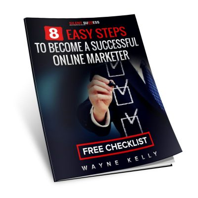 8 Easy Steps t Become A Successful Online Marketer